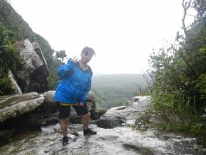 ユツン三段の滝