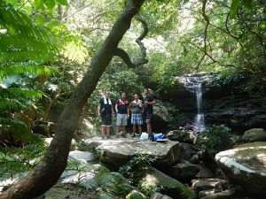 クーラの滝